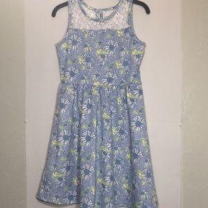 Girls floral dress